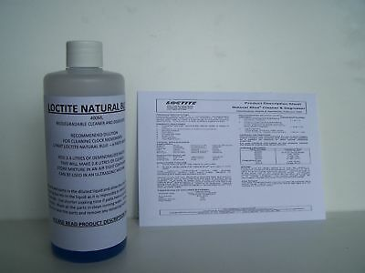 CONCENTRATED CLOCK CLEANING FLUID 400ml.