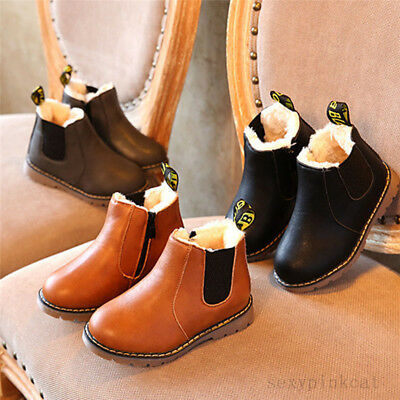 New Winter Children kids Martin Boots Snow Baby Shoes Toddler Boys Girls Boots
