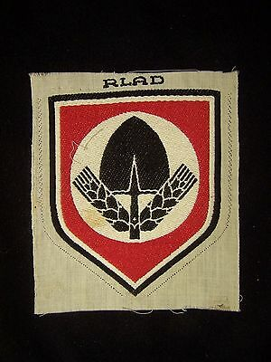 Original Vintage   Wwii  German Rad Shorts Patch Smaller Version