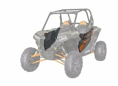 Polaris Rzr 2014 Xp 1000 Aluminum Door Graphics Set Orange Titanium 2880499