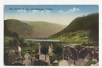 Ireland, The Priests House, Glendalough Postcard, A452