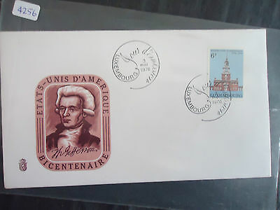 luxembourg 1976 american bicentennial cover