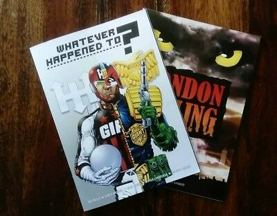 Judge Dredd  Supplements Whatever Happened To? (From Meg 388) and London Falling