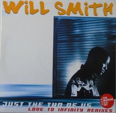"""WILL SMITH - Just The Two Of Us ~ 12"""" Single PS PROMO REMIXES"""