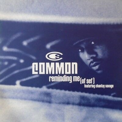 "COMMON - Reminding Me ~ 12"" Single PS PROMO"
