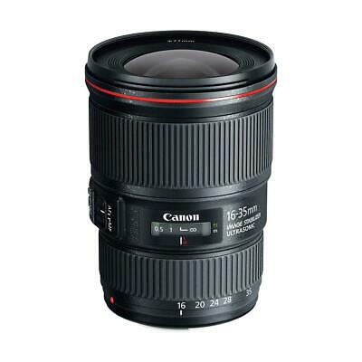 Canon EF 16-35mm f/4.0L IS USM Ultra Wide Angle Zoom Lens - U.S.A. Warranty