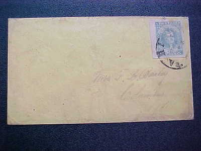 Confederate: Virginia, Richmond CSA #2 Cover with Stone Scratch, HUGE MARGINS
