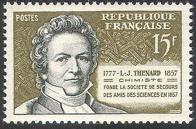 France 1957 Louis-Jacques Thenard/Science/Chemistry/Scientists/People 1v n41907