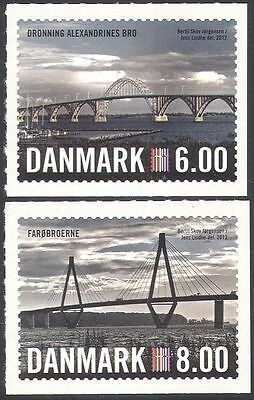Denmark 2012 Nordia/Bridges/Architecture/Engineering/Transport 2v set s/a n42633