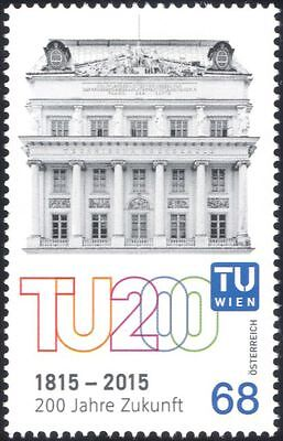 Austria 2015 Vienna University 200th/Buildings/Architecture/Education 1v at1183