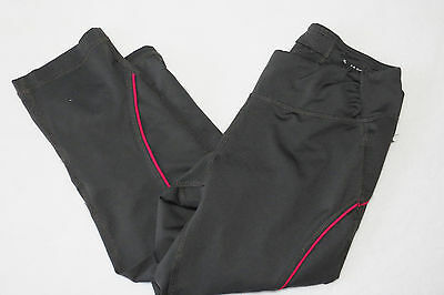 156e7f061adac Womens Tek Gear Shapewear Gray Pink Fitted Stretchy Cropped Capri Pants XS
