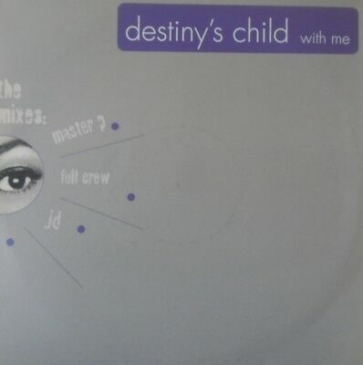 "DESTINY'S CHILD - With Me ~ 12"" Single PS PROMO"