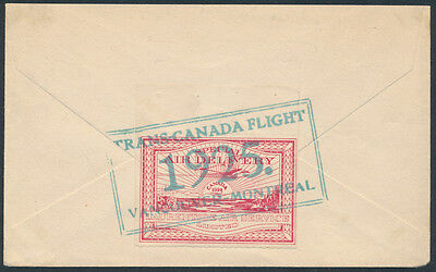 1925 AAMC #CL4-2501, Laurentide Air Service, Cancelled Trans-Canada Flight