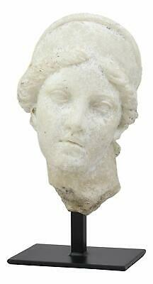 Ancient Classical Greek Roman Goddess Aphrodite Head Bust Antique Replica Statue