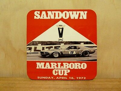 Drink Coaster Set Of 4 - Sandown Marlboro Cup, 1972