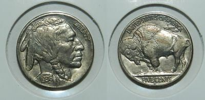 U.S.A. BUFFALO NICKEL 1936 S - LUSTROUS aUNC - VERY NICE