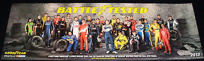 Nascar Drivers Goodyear Poster New Class Of 2013  Battle Tested Limited Edition