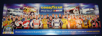Nascar Drivers Goodyear Poster New Class Of 2014 60 Years In Limited Edition