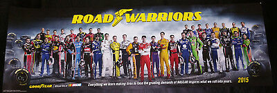Nascar Drivers Goodyear Poster New Class Of 2015 Road Warriors Limited Edition
