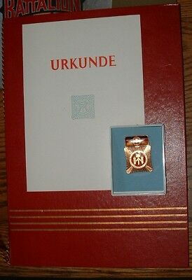 DDR EastGerman Documents Badges KarlMarx Stadt Brigade ClaraZetkin Chemnitz USSR