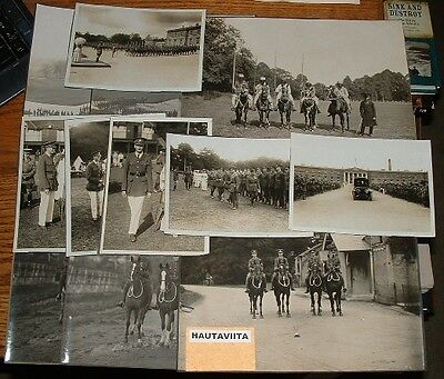 WW1 Orig Photos Sandhurst RMC Royal MilitaryCollege King Queen Officers 1911-19
