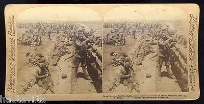 Royal Munster Fusiliers BoerWar Trench Photo HoneyNest Kloof South Africa 1900