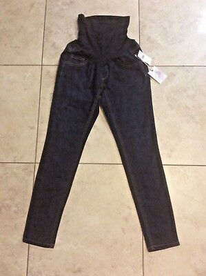JESSICA SIMPSON Maternity Skinny Blue JEANS ~ Petite Small PS ~ NWT $49