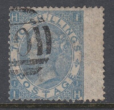 Great Britain 1867 2/- Blue Queen Victoria, Used