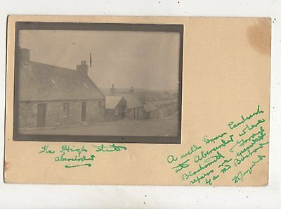 The High Street Aberarder 1932 RP Postcard 611b
