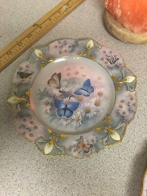 Enchanted Wings Lena Liu's Jewels of the Garden Collectible Plate, Bradford