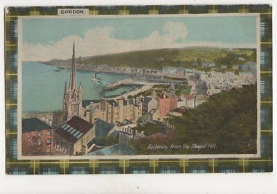 Rothesay From Chapel Hill Vintage Plain Back Postcard 236b