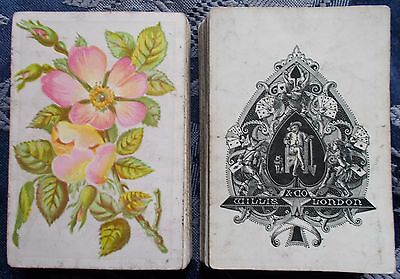 ANTIQUE PLAYING CARDS  /  WILLIS & Co. London  c.1870   52/52