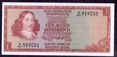 1 Rand From South African Reserve Bank Unc