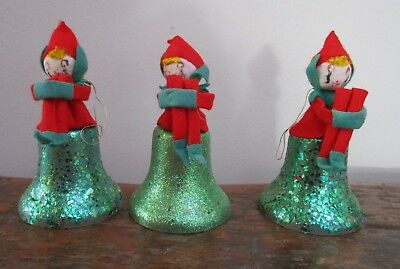 Knee Hugger Pixie Elf Ornament Bells