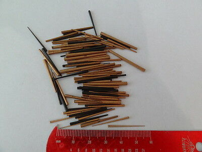 selection Of Vintage Large Taper Pins  clock part (NOS),