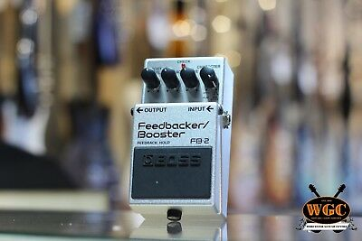 Boss FB 2 Feedback / Booster Pedal