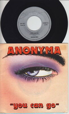 ANONYMA * You Can Go * 80's Belgian ITALO DISCO SYNTH * Private 45 * Listen!