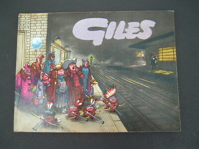 Daily Express  Giles Cartoon Annual 1959 - 13th Thirteenth Series. Unclipped