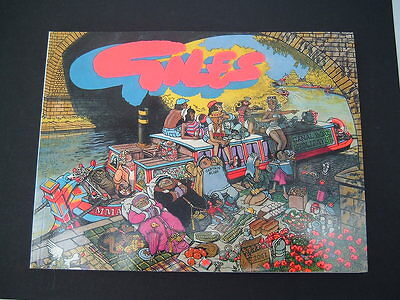 Daily Express Giles Cartoon Annual  1989 43rd Forty Third Series. Unclipped