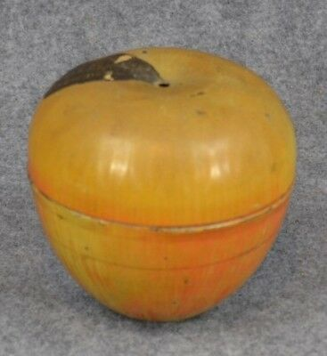 advertising tin string yarn holder apple Shenandoah candy Winchester antique