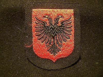 Very Rare  Original Wwii  German Waffen Ss Albania  Volunteer Sleeve Shield