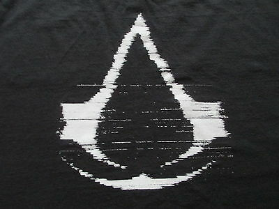 Assassin's Creed Revelations Black White Red T Shirt M Medium L Large
