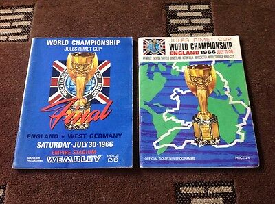 Original 1966 World Cup Final And Tournament Programme Vgc No Writing (4)