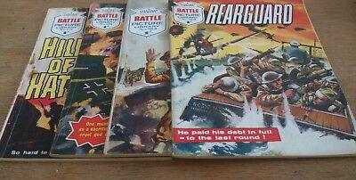 4 Battle Picture Library 1964