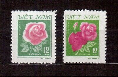 Vietnam Democratic Republic 1980 Set Mint # 1084/85, Flowers !!