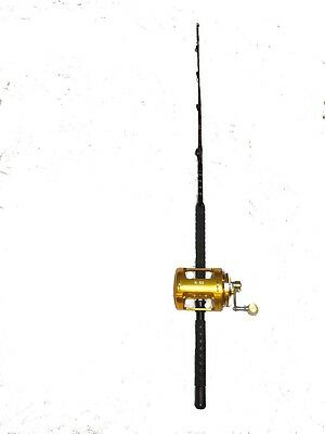 80 wide 2 speed fishing reel and 100-120 lb. fishing rod combo WAREHOUSE SALE!!!
