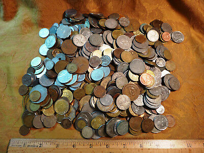 Huge World Coin Lot (Over 500 Coins - Some Silver) - Free S&H USA