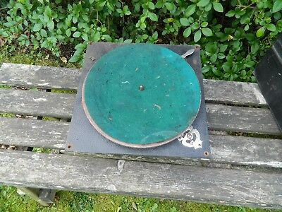 Decca 1920's  Wind Up Gramophone Motor and Board, Turntable etc