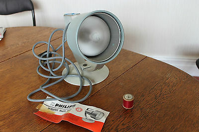 VINTAGE Philips SUNLAMP - no  BOX working see pics COLLECT ONLY