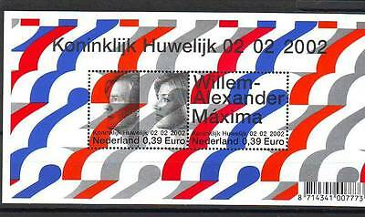 Netherlands - Sgms2197 Mnh 2002 Royal Marriage